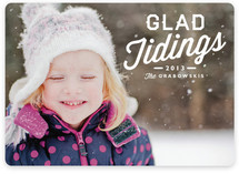 Glad Tidings Holiday Photo Cards