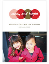 Color Study Holiday Photo Cards
