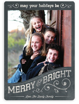 Vintage Frame Holiday Photo Cards