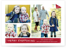 Warm and Fuzzy Holiday Photo Cards