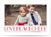 Love Peace Cheer by Lauren Chism