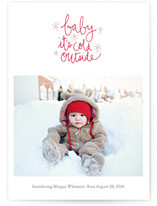Oh Baby Baby Holiday Photo Cards