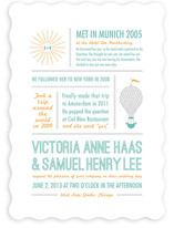 Time Flies Wedding Invitations