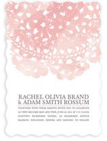 Watercolor and Doilies Wedding Invitations