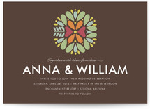 Kaleidoscope Wedding Invitations