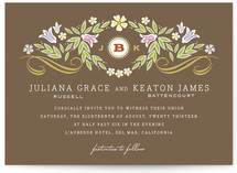 Flourishing Wedding Invitations