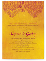 Anand Karaj Wedding Invitations