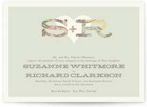 Cartography Wedding Invitations