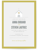 Going to the Chapel Wedding Invitations