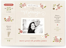 Sense and Sensibility Wedding Invitations