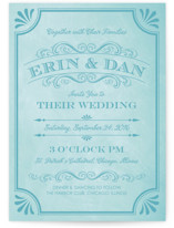 A Chalkboard Marriage Wedding Invitations