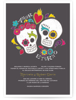 Dia de los Muertos Wedding Invitations
