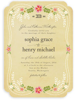 Wisteria Wedding Invitations