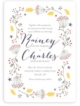 Merry Garden Wedding Invitations
