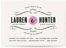 French Quarter Wedding Invitations
