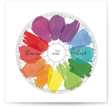 Watercolor Wheel