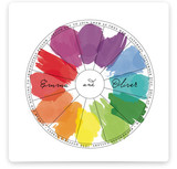 Watercolor Wheel Wedding Invitations