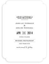 Pesto Classico Wedding Invitations