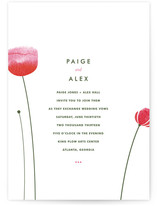 Poppy and Paint Redux Wedding Invitations