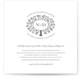 Wedding Boughs Wedding Invitations