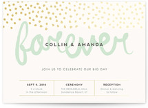 Forever At Last Wedding Invitations