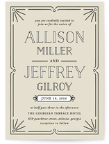 Classic Glam Wedding Invitations