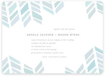 Arrow Head Wedding Wedding Invitations
