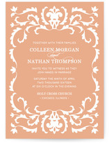 Jacquard Wedding Invitations