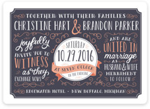 Serendipity Wedding Invitations
