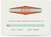 Merit Badge Wedding Invitations