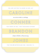 Read Between the Lines Wedding Invitations