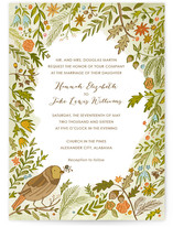 The Whimsical Outdoors Wedding Invitations
