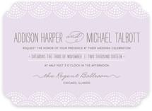 Pearl + Dot Wedding Invitations