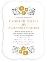 Watercolor Wildflowers Wedding Invitations