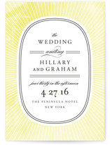 Plaza Wedding Invitations