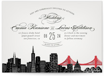 Big City - San Francisco Wedding Invitations