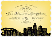 Big City - Los Angeles Wedding Invitations