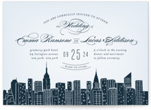 Big City - New York City Wedding Invitations