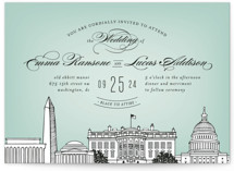 Big City - DC Wedding Invitations