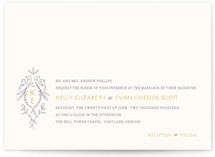 Secret Garden Wedding Invitations