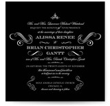 Ornate Love Wedding Invitations
