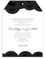 Pearls on a String Wedding Invitations