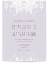 Lacey Overtones Wedding Invitations