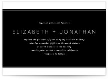 Runway Wedding Invitations