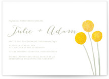 Billy Ball Wedding Invitations