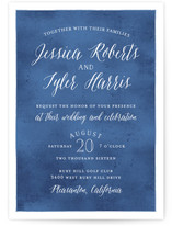 Paint Swatch Wedding Invitations