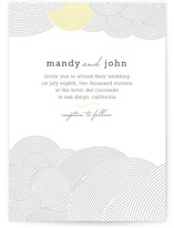 There's an Air About Them Wedding Invitations