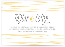 Sand Dunes Wedding Invitations
