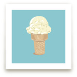 Ice Cream Monogram