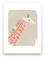 Giraffe and Mouse